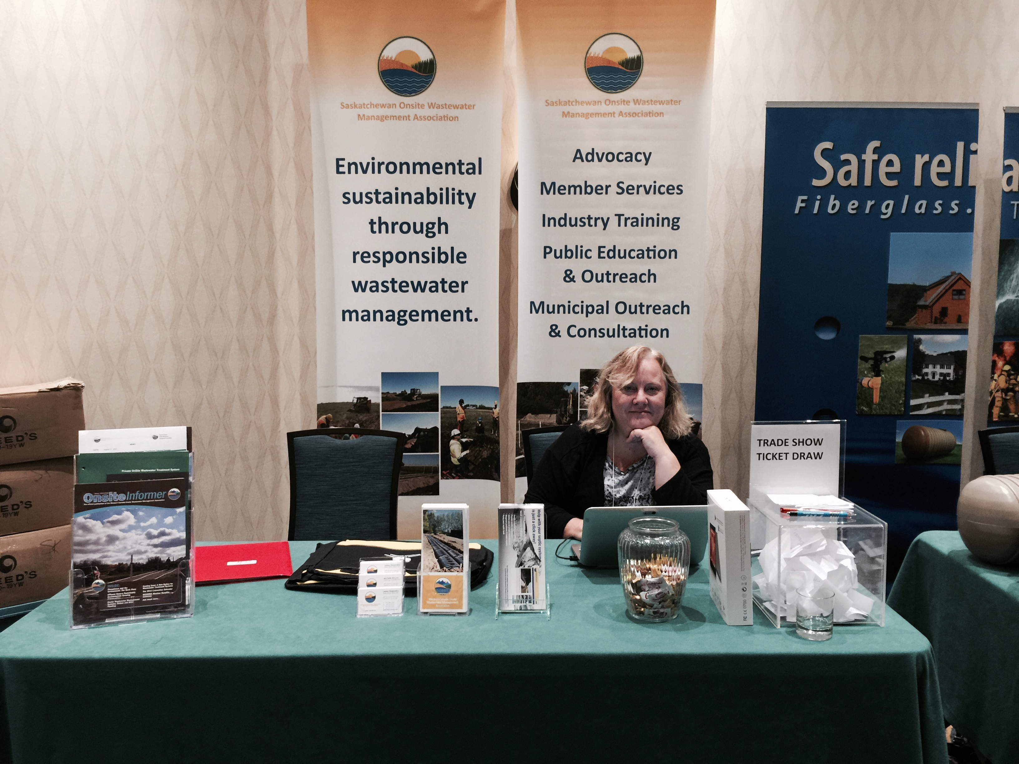 CIPHI Trade Show Booth